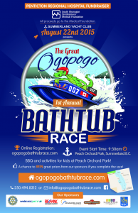 First Annual Ogopogo Bathtub Race